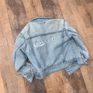 California denim jacket